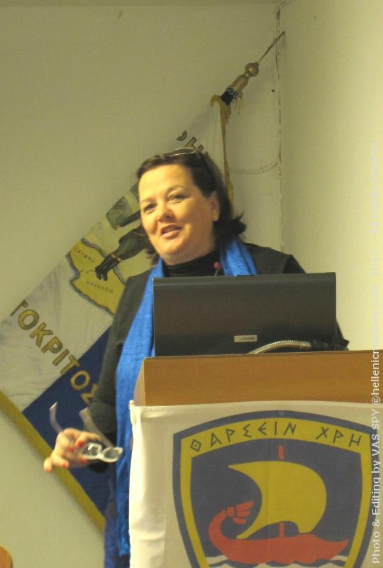 H κα Ηλιάδη Ιωάννα, στρατιωτική συντάκτρια και Διδακτορική φοιτήτρια του Ανοιχτού Πανεπιστημίου της Κύπρου, παρουσίασε την χρήση των μέσων κοινωνικής δικτύωσης σε Ένοπλες Δυνάμεις του Εξωτερικού.